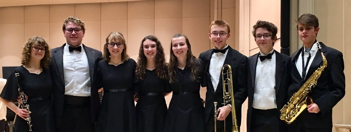 Proud of Crestwood's 8 representatives in Kent State University's All-Star Ensembles!