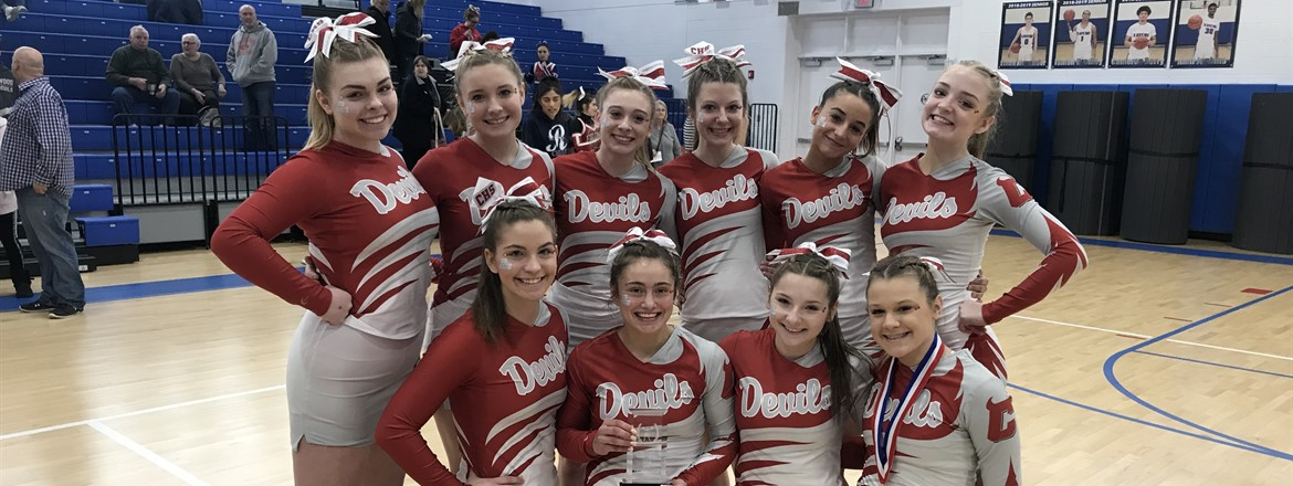 1st place for PTC's cheer competition!