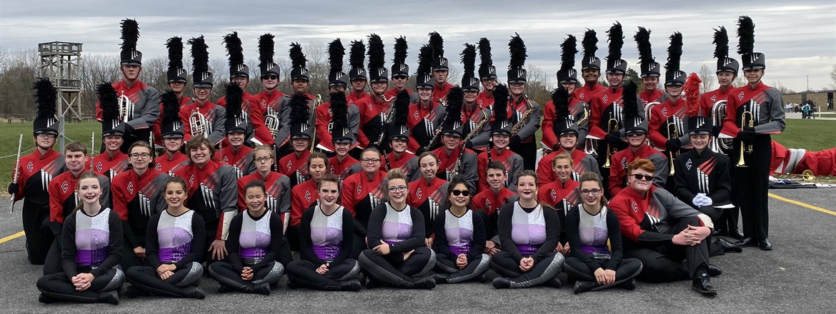 Congratulations to the Crestwood Scarlet Guard on earning a Superior Rating (1) at State Marching Band Finals