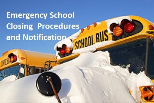 Emergency school closing procedures