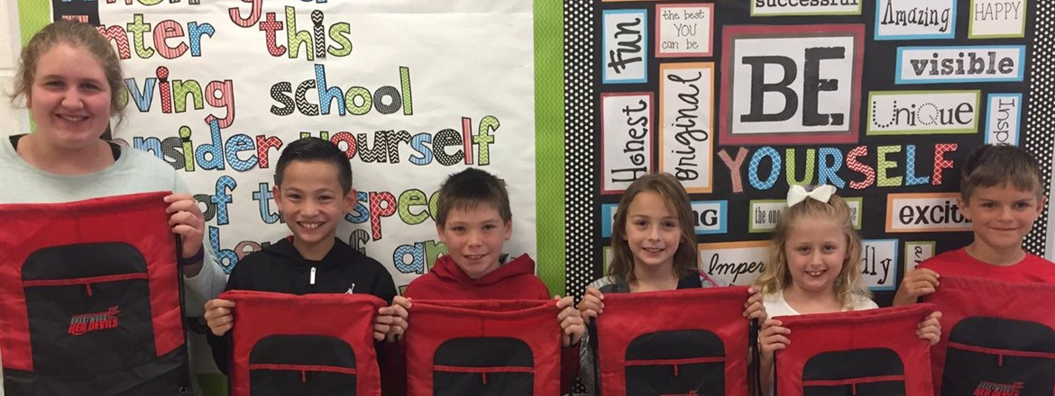 Crestwood Cares for Others, School and Self Winners!