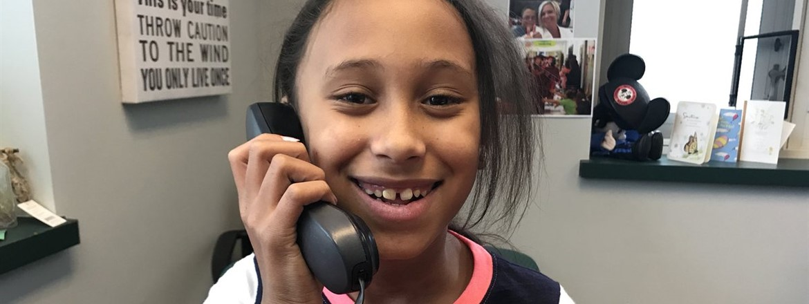 Congrats Mary! Nominated as the #goodnewscalloftheday. March trait is perseverance/hard working!