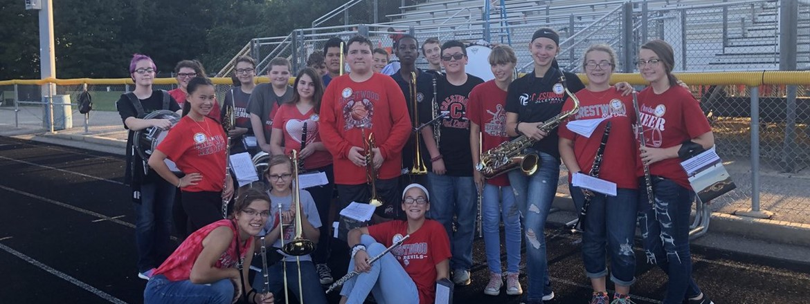 8th Grade Band Night