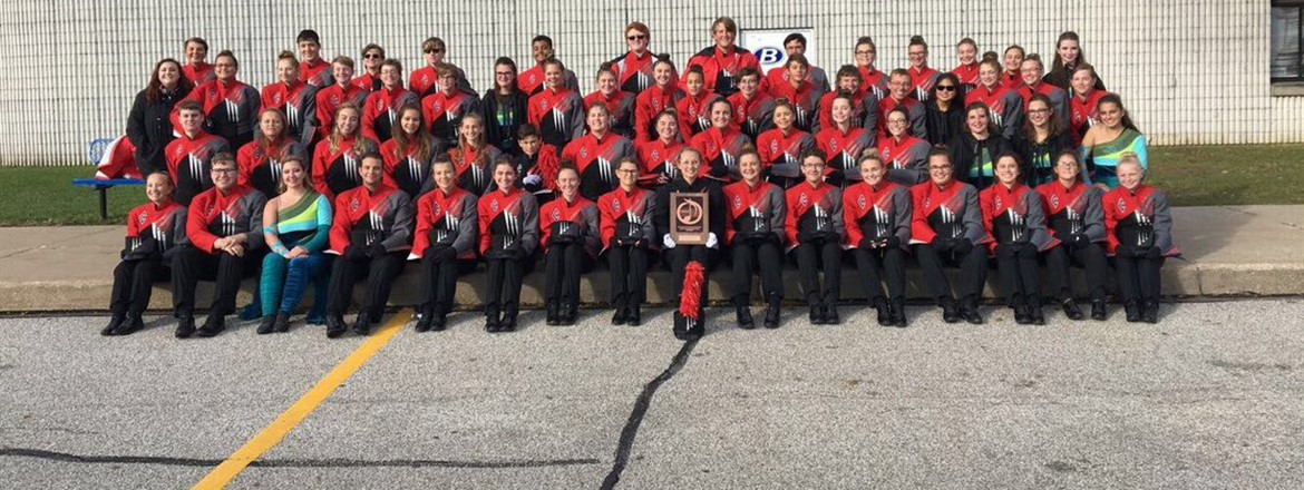 CONGRATULATIONS CRESTWOOD SCARLET GUARD! RATING IS A 1 - SUPERIOR!